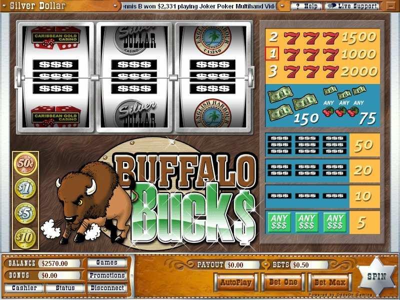 Play Buffalo Bucks Slot