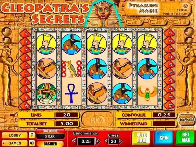 Play Cleopatra's Secrets Slot