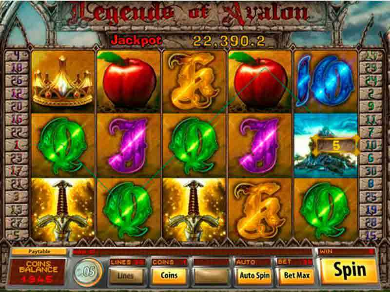 Play Legends of Avalon Slot