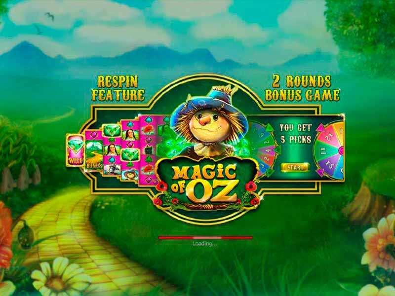Play Magic of Oz Slot