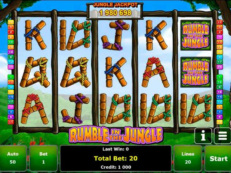 Play Rumble in the Jungle Slot