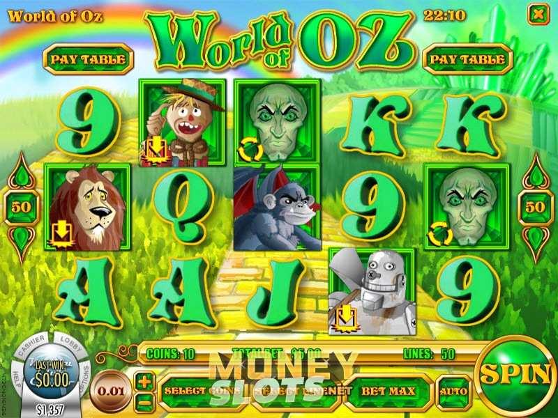 Play World of Oz Slot