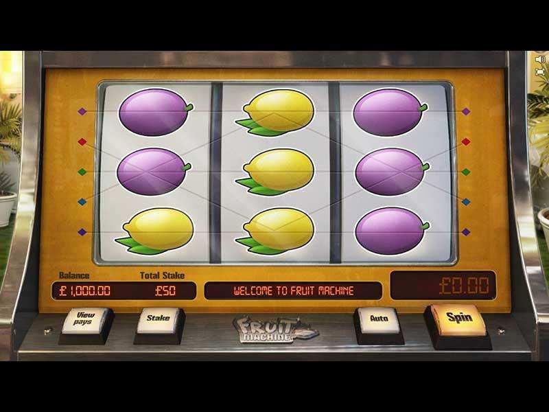 Play Fruit Machine Slot
