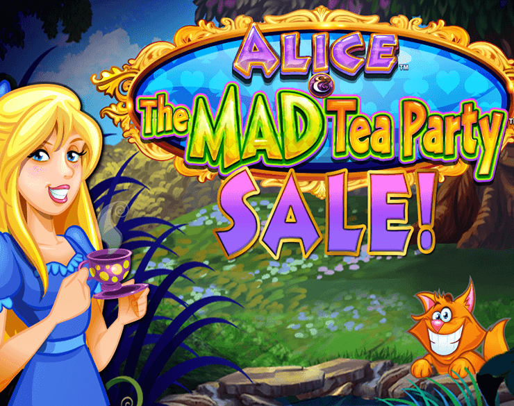 Play Alice And The Mad Tea Party Slot