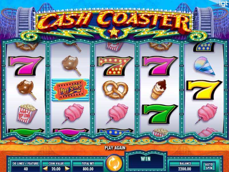 Play Cash Coaster Slot