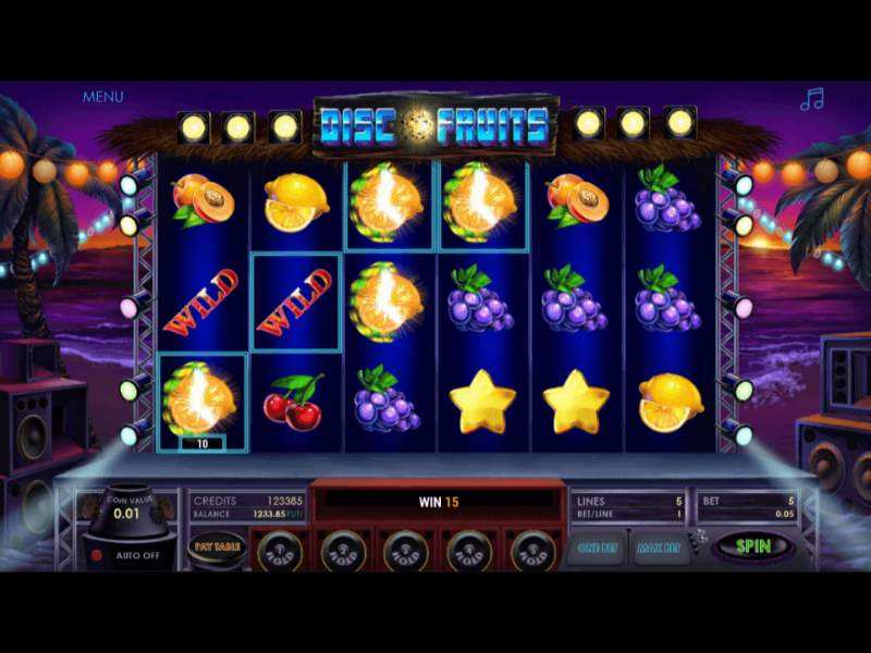 Play Disco Fruits Slot