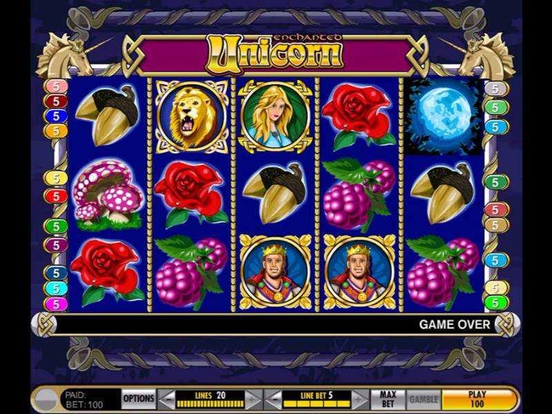 Play Enchanted Unicorn Slot