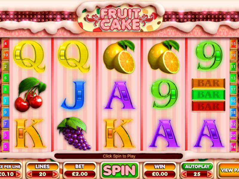 Play Fruit Cake Slot