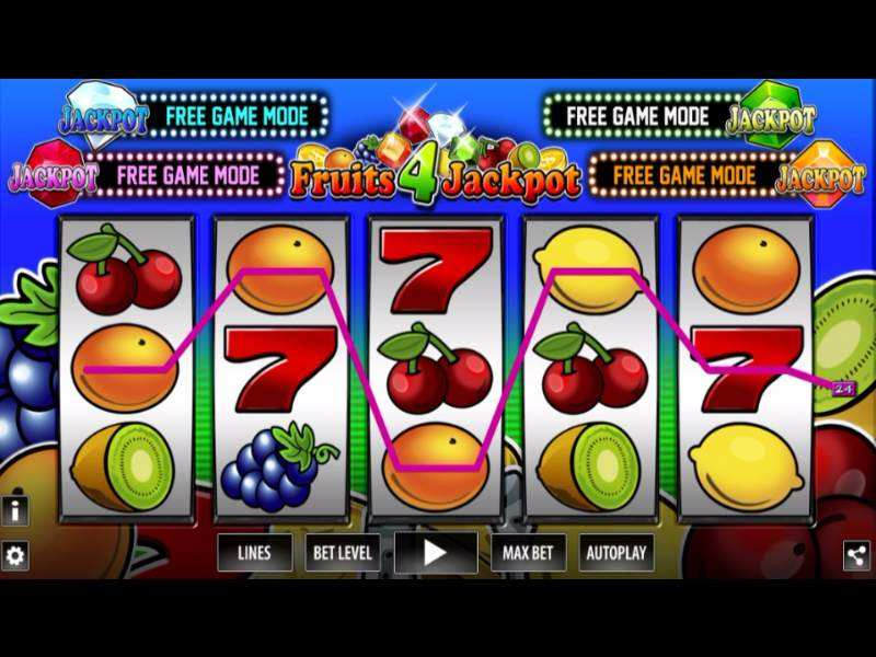 Play Fruits 4 Jackpot Slot