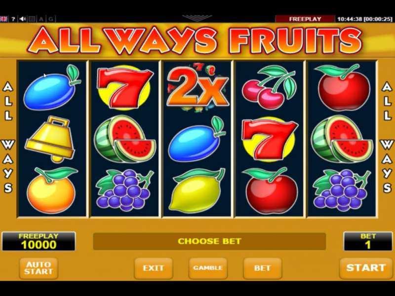 Play All Fruits Slot
