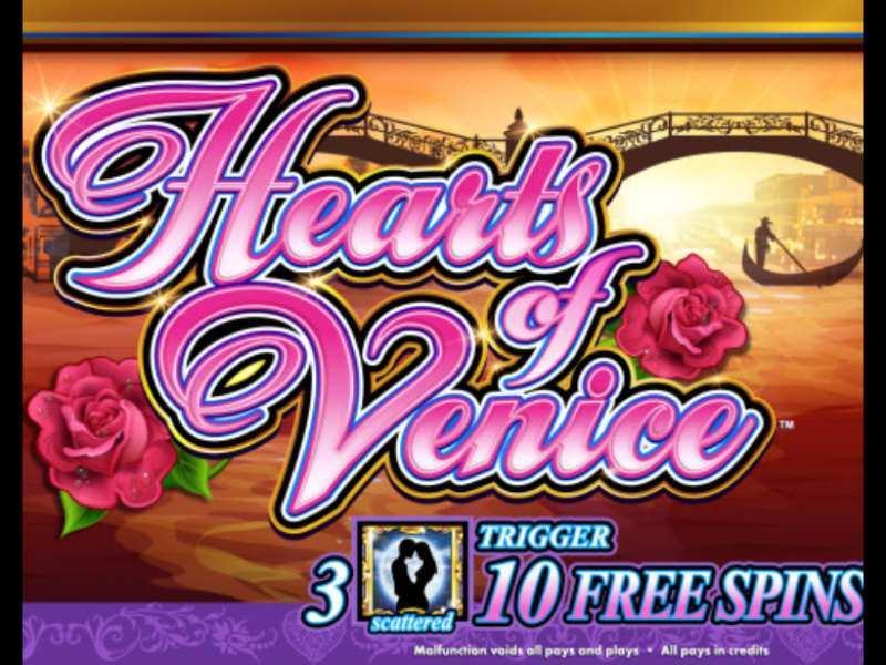 Play Hearts Of Venice Slot