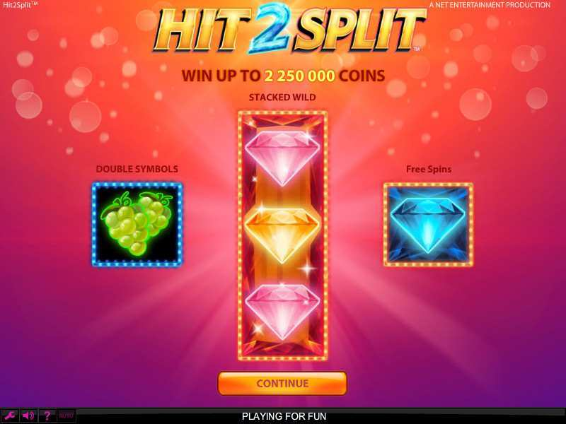 Play Hit 2 Split Slot