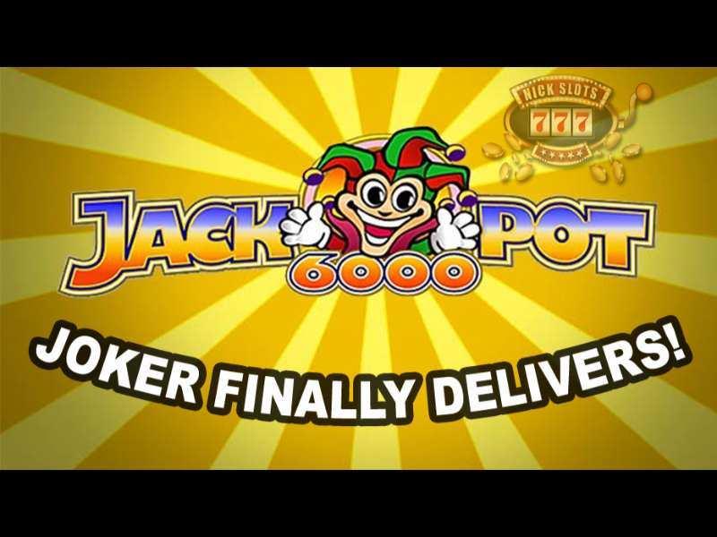 Play Jackpot 6000 Slot