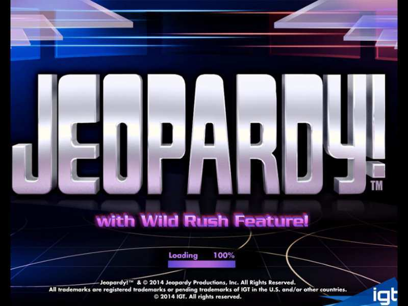 Play Jeopardy! Slot