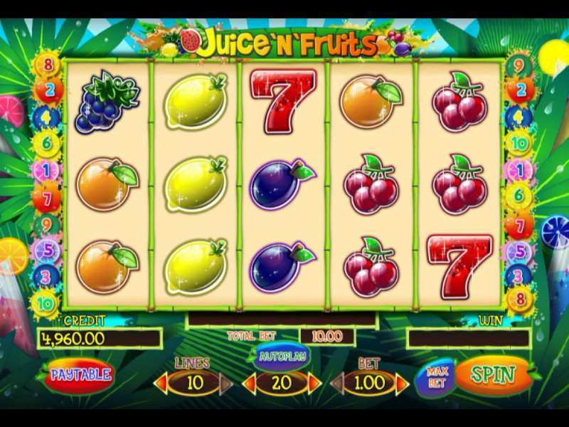 Play Juice'N'Fruits Slot