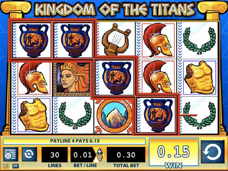 Play Kingdom Of The Titans Slot