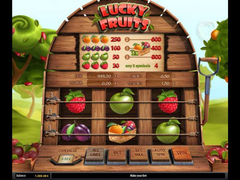 Play Lucky Fruits Slot