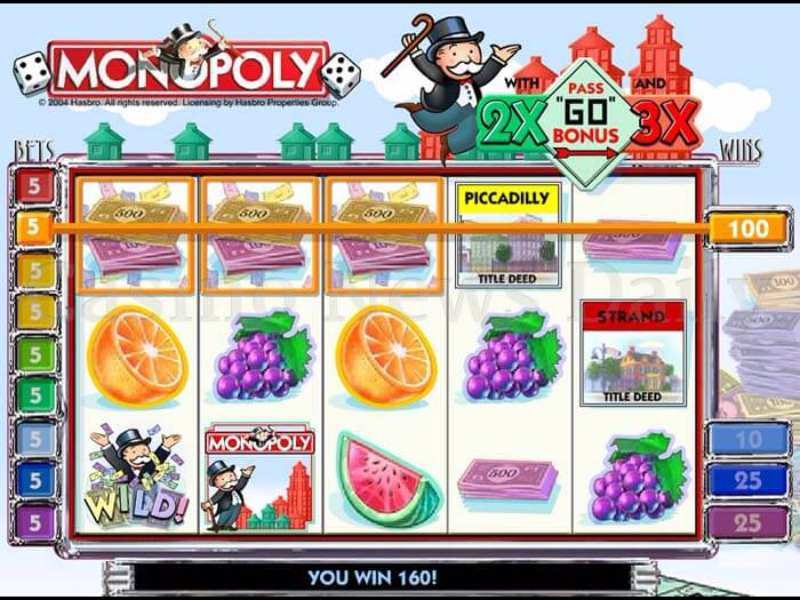 Play Monopoly with Pass Slot