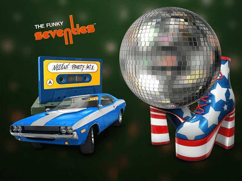 Play Retro Funky 70S Slot