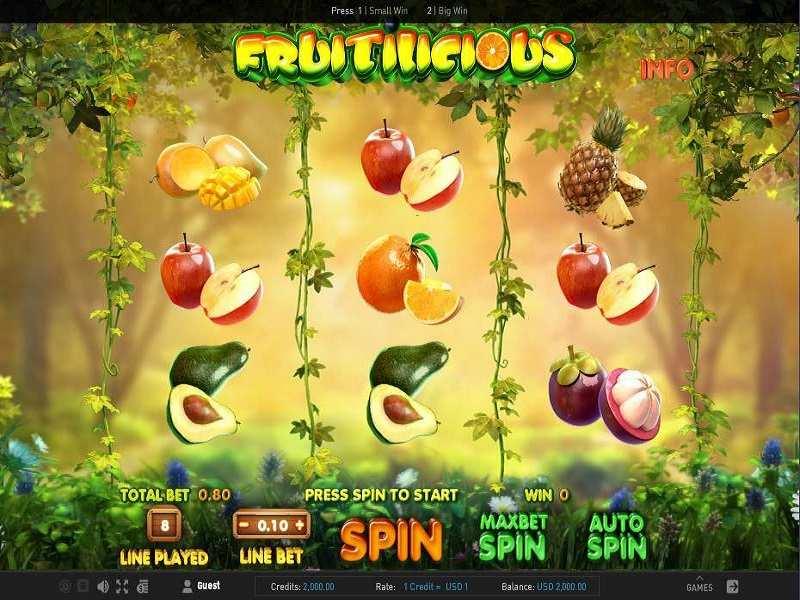 Play Fruitilicious Slot