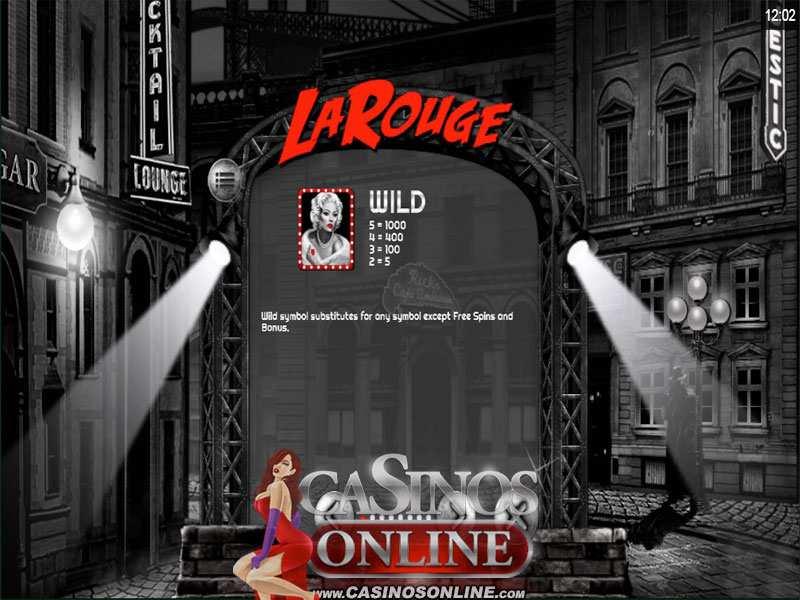 Play La Rouge Slot