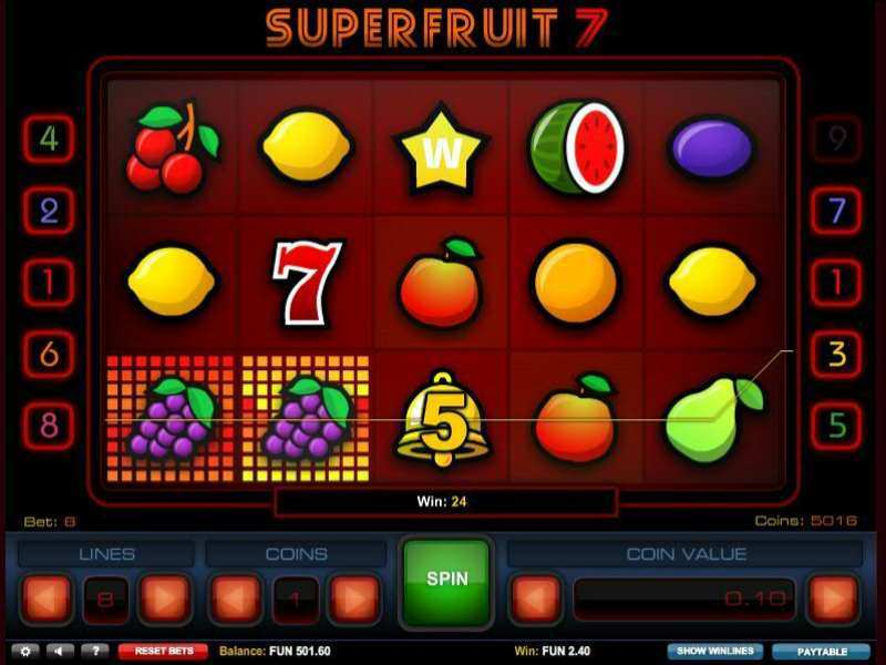 Play Super Fruit 7 Slot