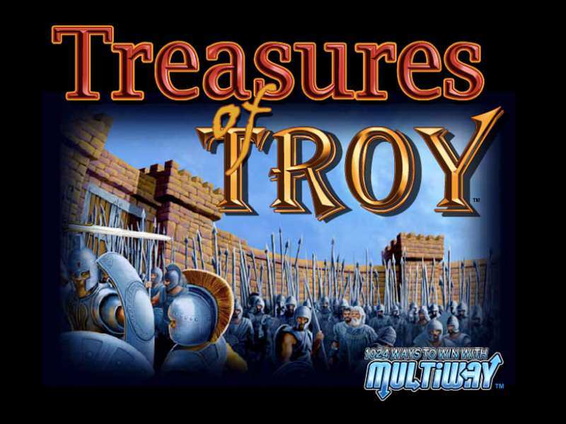 Play Treasures Of Troy Slot