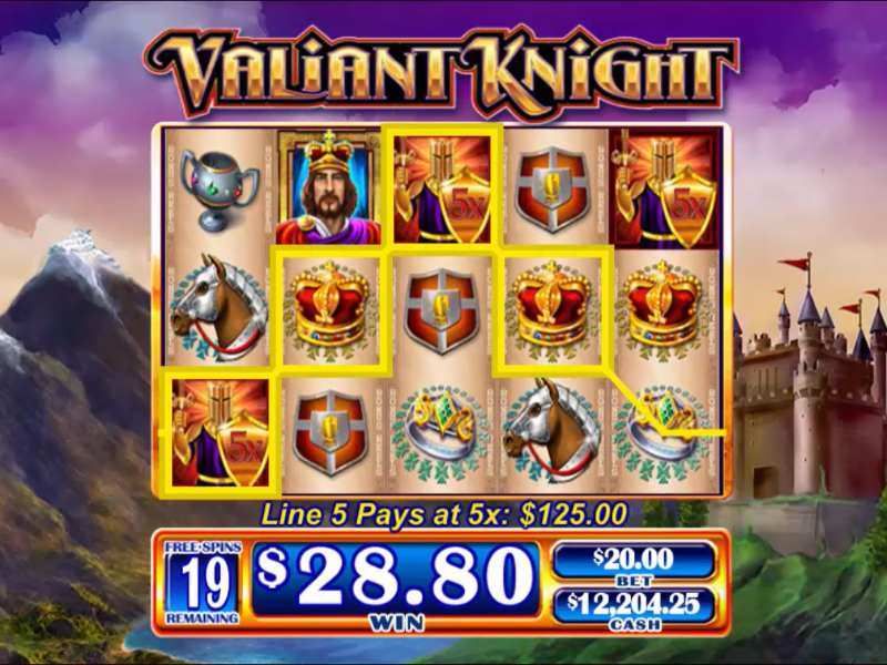 Play Valiant Knight Slot