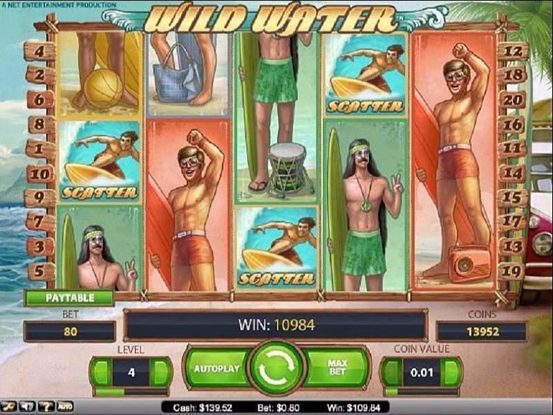 Play Wild Water Slot