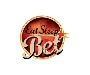 eat sleep bet logo